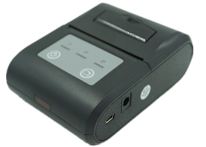 Compact Bluetooth Thermal Printer , Mobile Receipt Printer For POS System