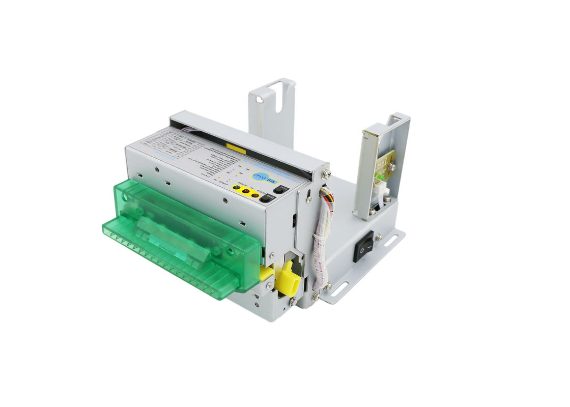 200 Mm / S Ticket Printer Mechanism , Thermal Receipt Printer With Dragging Paper Sensor
