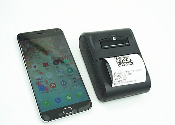 Pocket size handheld bluetooth 58 mm portable thermal printer for android app