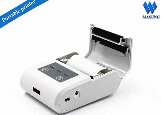 China Pocket Medical Infrared Kiosk Ticket Printers / Wireless Thermal Receipt Printer factory
