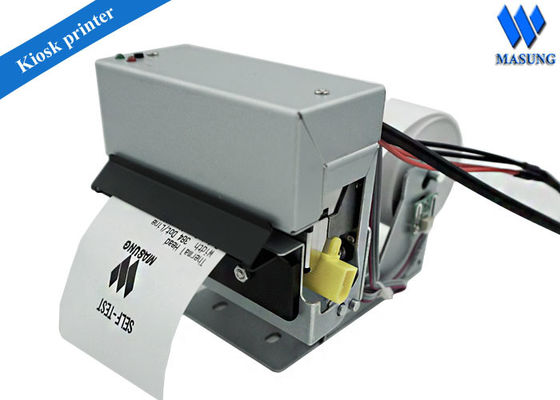 China 2 Inch Kiosk Thermal Printer Linux For Parking Machine , Rs232 Panel Mount Printers factory