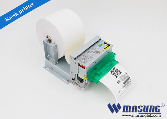 China MS - D347 80 mm kiosk receipt printer black marker sensor , mini barcode thermal printer Android factory