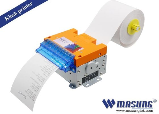 China POS Kiosk Thermal Printer Module Full / Partial Cutting Method For Parking Machine factory