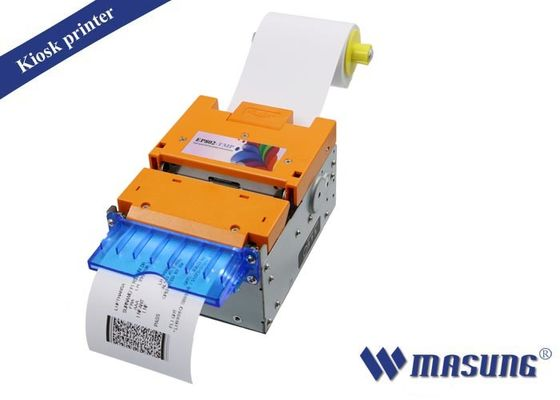 China 640 Dots Thermal Ticket Printers DC 24V Power Supply For Boarding Pass Printing factory