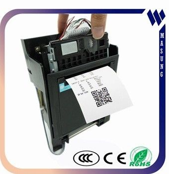 China Thermal Dot Line Printing Kiosk Thermal Receipt Printer With Multiple Sensor factory