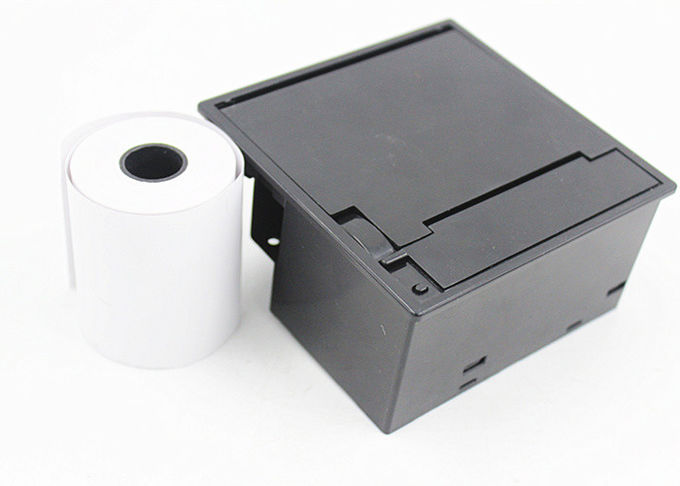 Easy big roll bucket 2 inch panel mount thermal printer with auto cutter