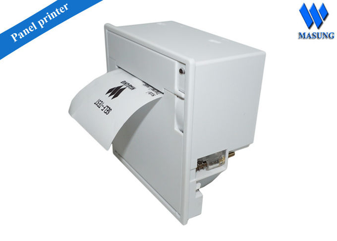 Panel type 58mm thermal kiosk ticket printer for Queue management system