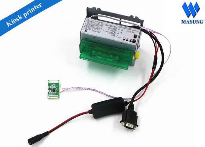 Parallel / USB Driver 3 Inch Thermal Ticket Printer Fast Speed For Parking